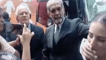 Autobús de la Libertad, boca, Mujer