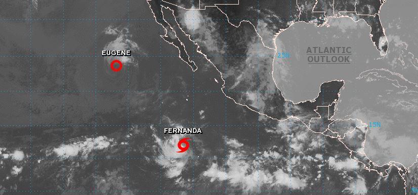 Se forma la tormenta tropical Fernanda