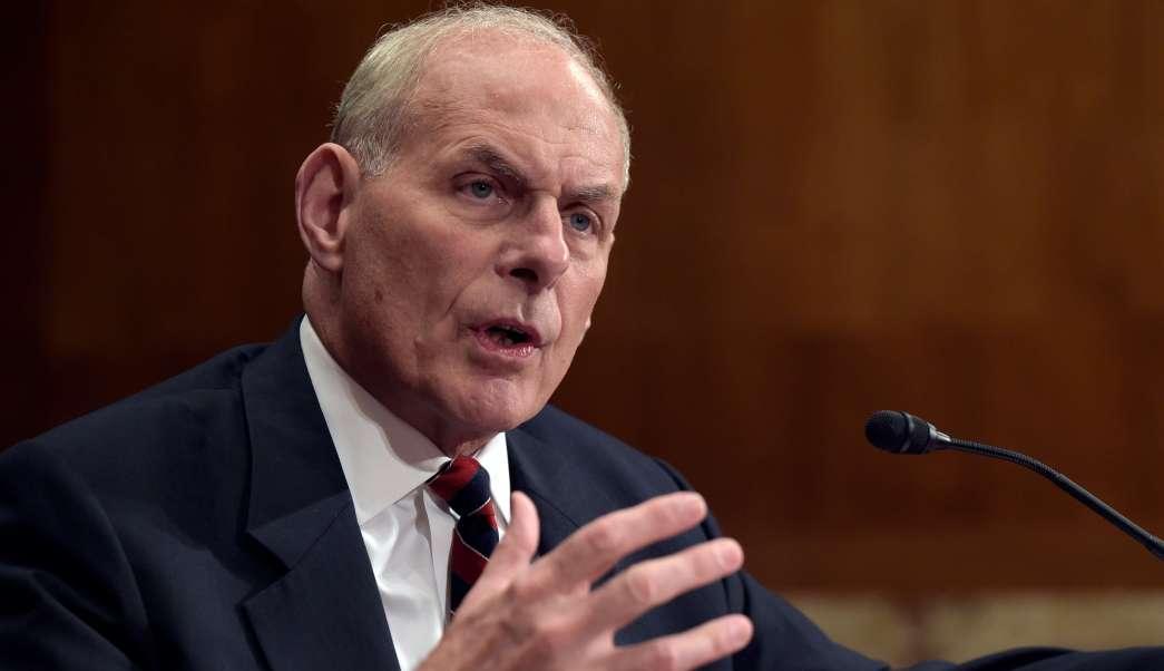 Trump nombra John Kelly jefe gabinete