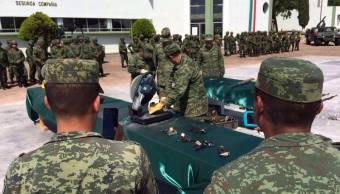 Sedena Destruye Armas Chiapas Seguridad Ejercito