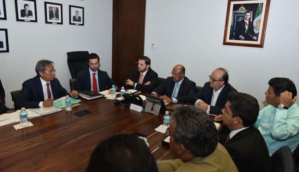 Autoridades Reunion Socavon Segob Morelos Gobernador