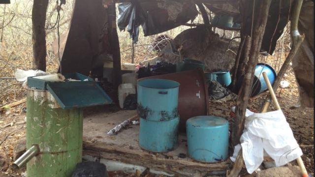 Crimen Organizado, Drogas Sinteticas, Sustancias Quimicas, Semar, Localiza, Laboratorios Clandestinos, Sinaloa