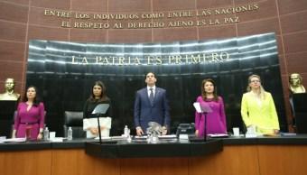 Senado recuerda a José Luis Cuevas. (Senado de la República)