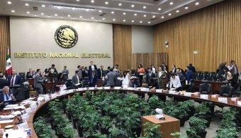 INE, multas, política, elecciones, PRI, PAN, PRD, decisión 2017