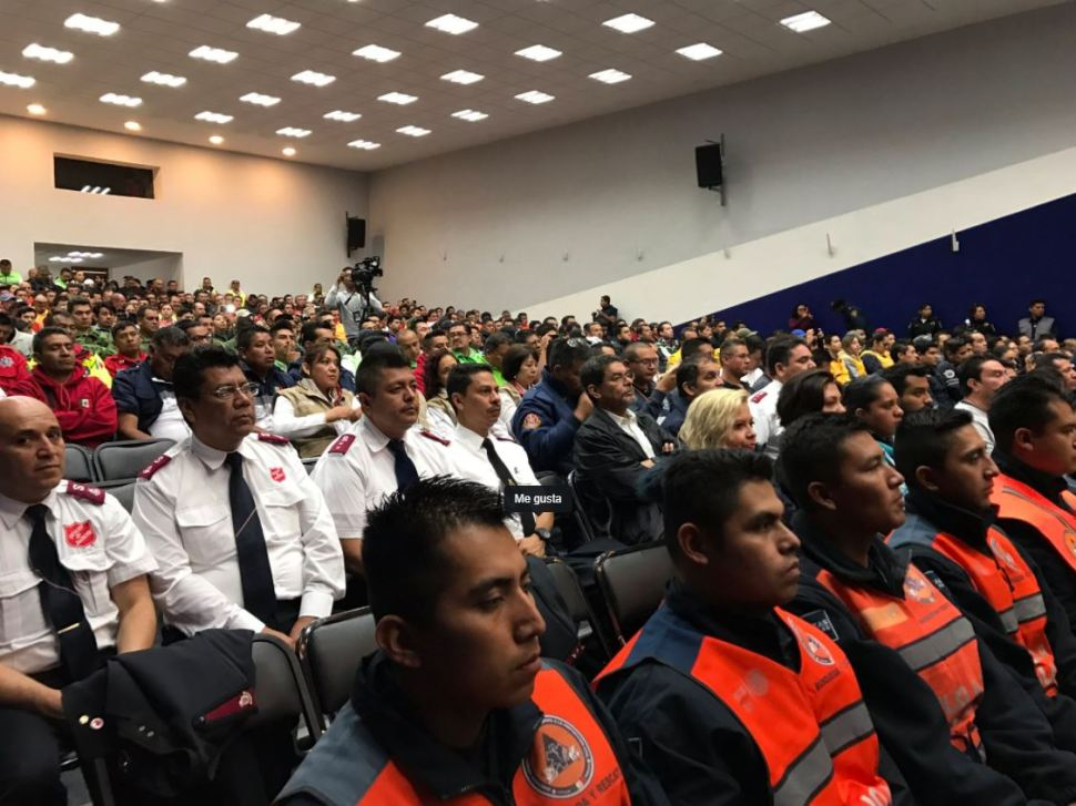 Cuerpos de emergencia homologan técnicas de rescate en la CDMX