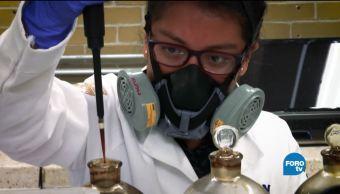 Sustancia, detecta, flujo, hidrocarburo, ciencia, producción petrolera
