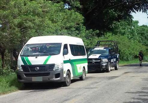 Rescatan migrantes secuestrados en Tabasco