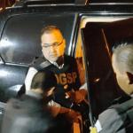 Operativo para trasladar a Javier Duarte de la cárcel al hangar