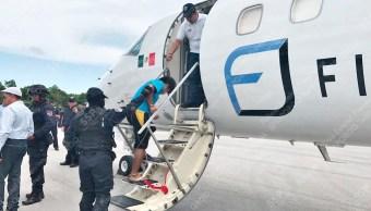 Trasladan, Cdmx, Penal, Cancun, Traslado De Reos, Seguridad,