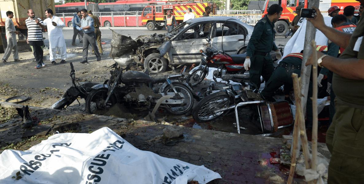 Atentado en Lahore, Pakistan, deja al menos 25 muertos