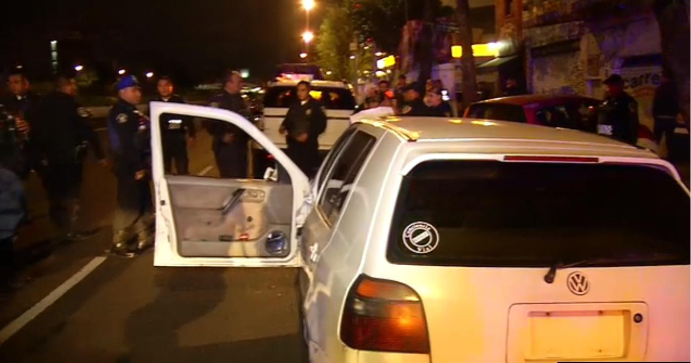 Varias personas son agredidas sobre calzada de Tlalpan por corredores de arrancones