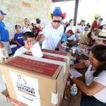 Venezolanos votan en contra de la Asamblea Constituyente