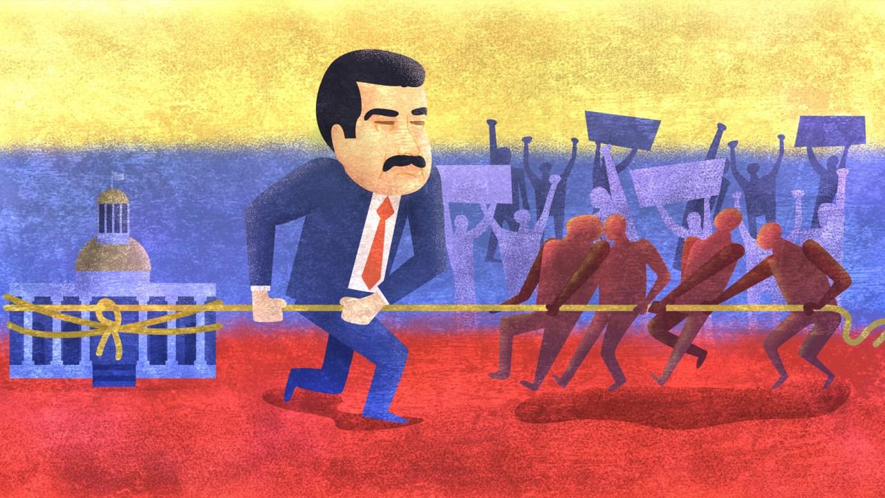 Nicolás Maduro, Asamblea Nacional Venezuela, Asamblea Constituyente