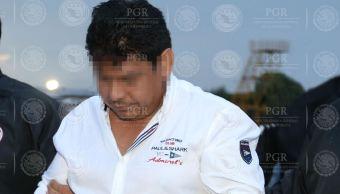 """A Hernán """"N"""", de 42 años, se le considera como el principal operador de una organización criminal que operaba en Veracruz (PGR)"""