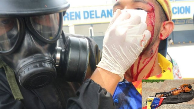 violinista, Willy Arteaga, venezuela, Guardia Nacional Bolivariana, protestas, manifestaciones
