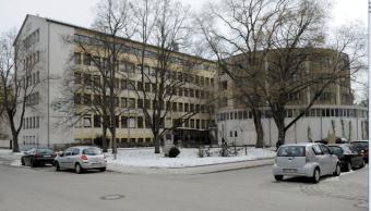Edificio del coro de Ratisbona en Alemania