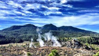 Michoacán, Paricutín, volcán, lava, medio ambiente, poblado, nuevo volcán