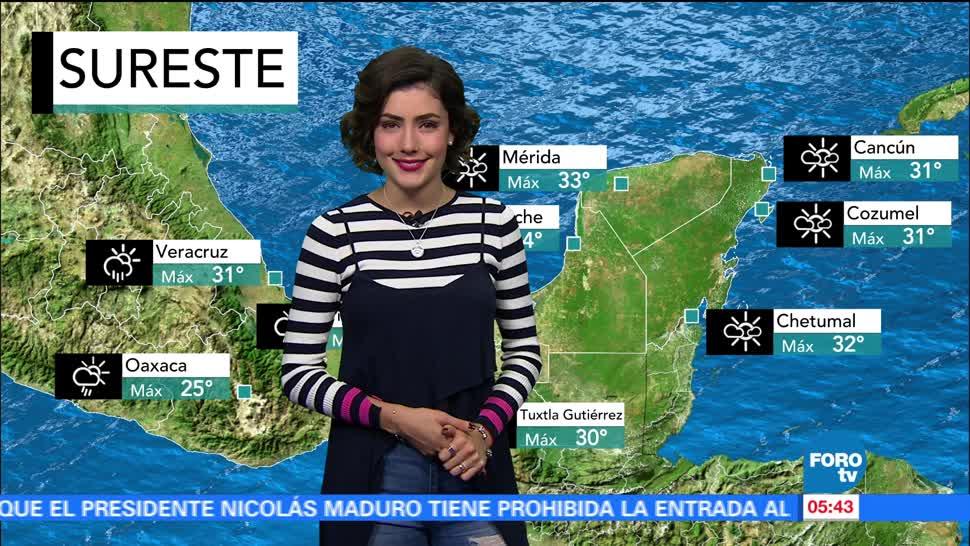clima, con, Daniela Álvarez