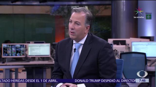 Crecimiento TLCAN Trump José Antonio Meade