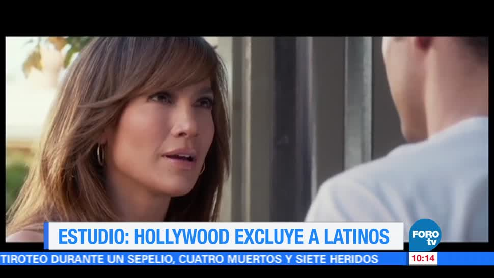 Hollywood, excluye, latinos, estudio