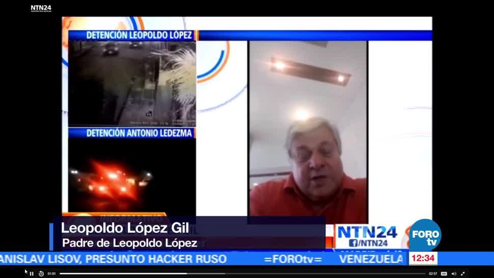Padre, Leopoldo López, denuncia, violación