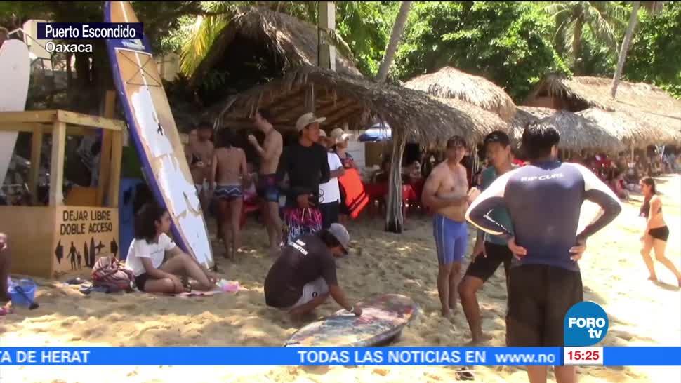 Continua Arribo Turistas Costas Oaxaca