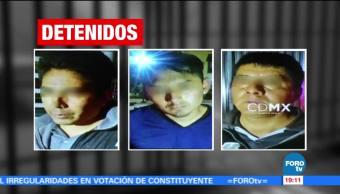 Caen Tres Ladrones Lomas Chapultepec Presuntos Delincuentes