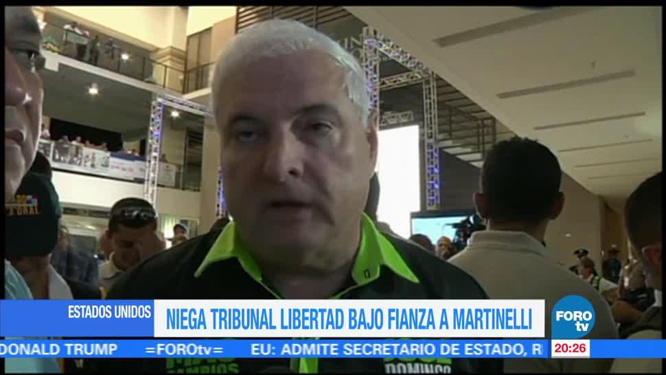Niegan Libertad Bajo Fianza Ricardo Martinelli