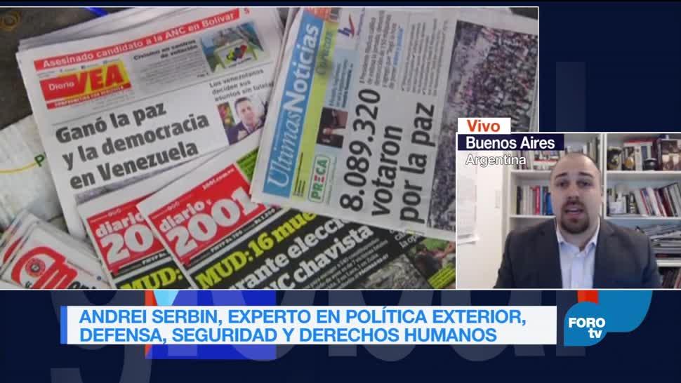 Genaro Lozano entrevista Andrei Serbin Constituyente Maduro