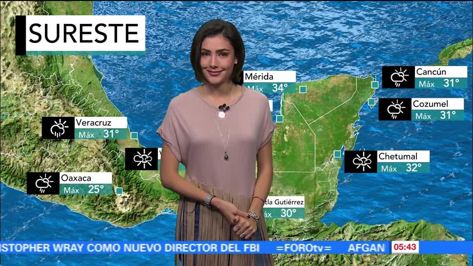 clima, con, Daniela Álvarez, canal, baja presión