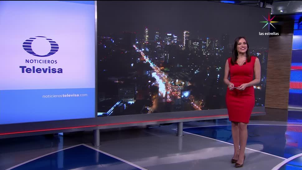 Las noticias, Danielle Dithurbide, Programa, agosto