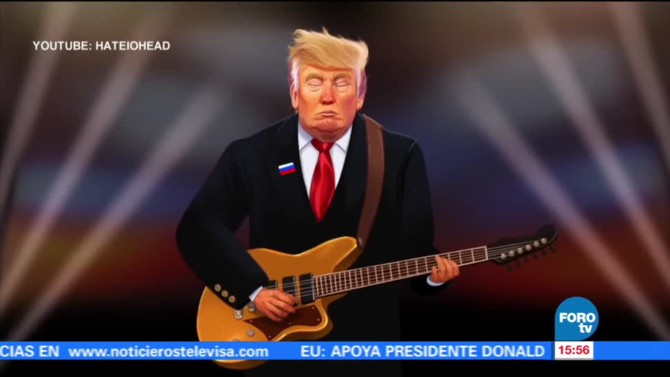 Tweet parodia Creep frases Donald Trump
