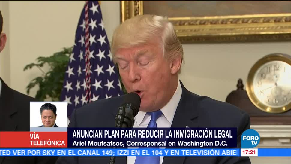 Plan Trump reducir inmigración EU futuro