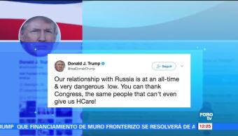 Trump, relación, Rusia, peligrosa