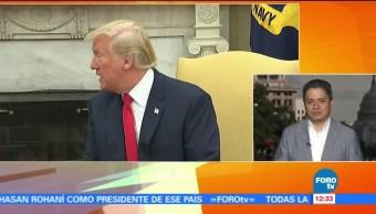 Trump, índices, aprobación, EU