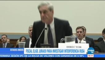 Mueller elige jurado para investigar la injerencia rusa