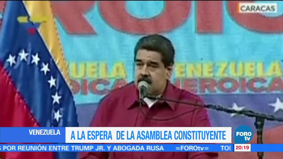 Venezuela espera instalación Asamblea Constituyente crisis