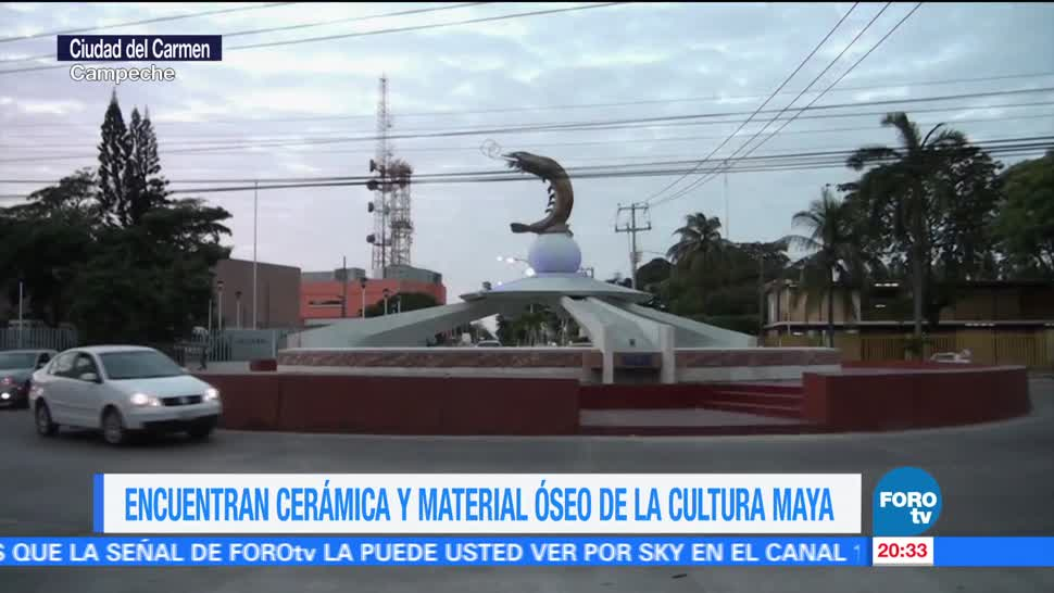 Encuentran vestigios mayas Ciudad Carmen Campeche
