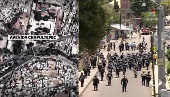 Enfrentamientos operativo Xochimilco mototaxistas gobierno CDMX