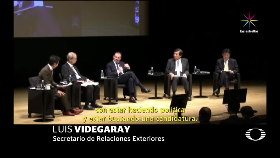 Luis Videgaray se descarta para 2018