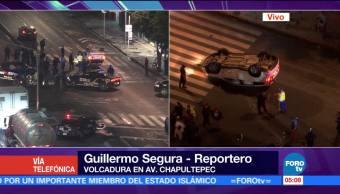 Atienden Volcadura Avenida Chapultepec Doctor Lucio