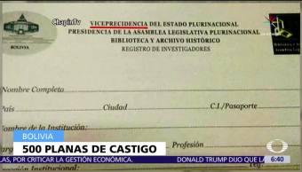 Bolivia Sanciona Funcionario Cometer Falta Ortografia Viceprecidencia
