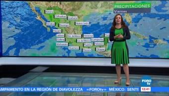 Lluvias Altas Temperaturas Raquel Méndez Tiempo Al Tiempo