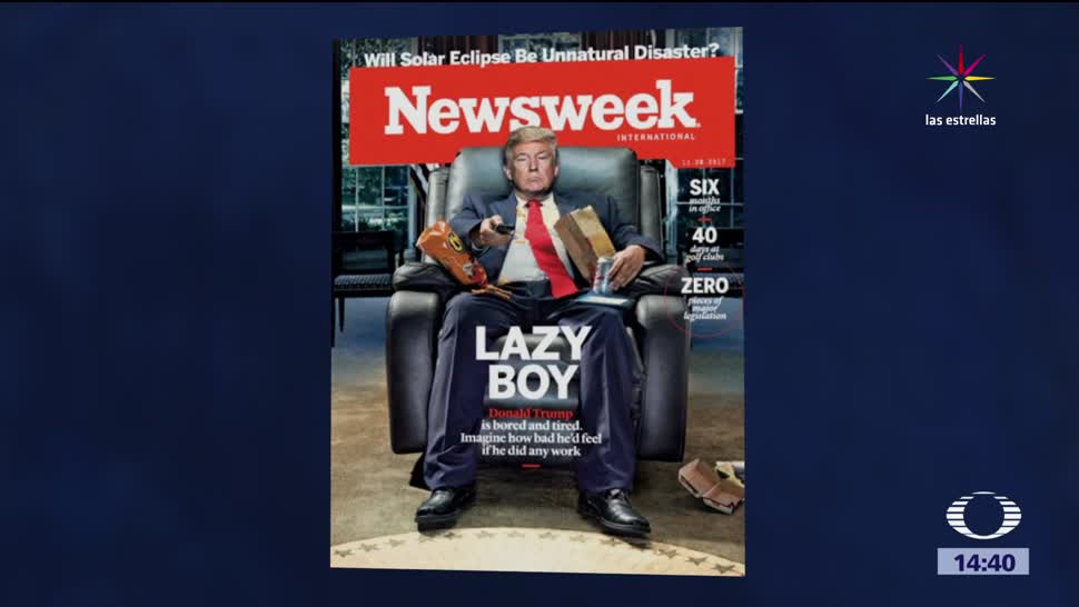 revista Newsweek lanza retadora portada Trump
