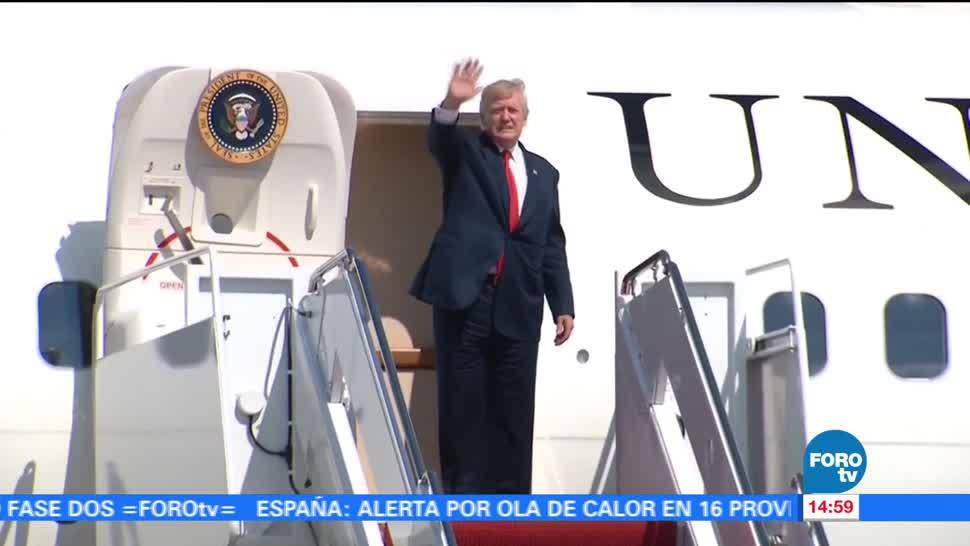 Trump se va vacaciones jugar golf