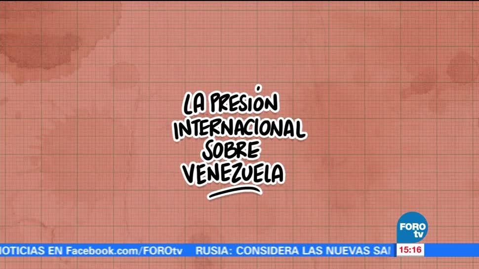 El ABC presión internacional contra Venezuela
