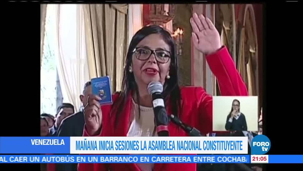 Instalan la Asamblea Constituyente en Venezuela