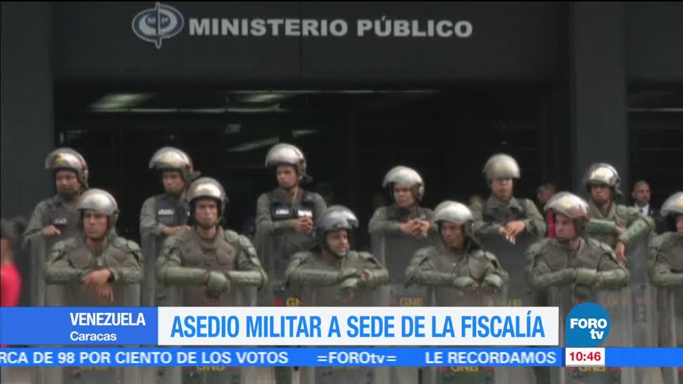 Asedio Militar Sede Fiscalia General Caracas Luisa Ortega Díaz