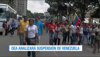 Oea Reacciona Asamblea Constituyente Venezuela Cancilleres Organización De Estados Americanos (Oea)