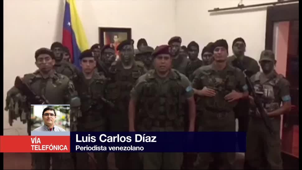 Roban Armas Durante Asalto Base Militar Venezuela Luis Carlos Diaz Periodista Venezolano